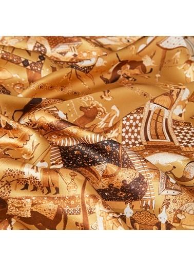 İpekevi Eşarp Altın